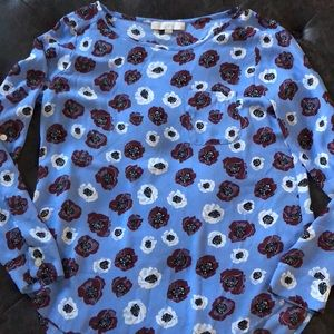Loft like new beautiful spring blouse.